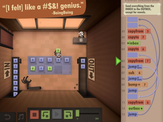 Screenshot #4 for Human Resource Machine