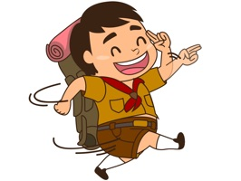 Boy Scout Stickers for iMessage by AMSTICKERS