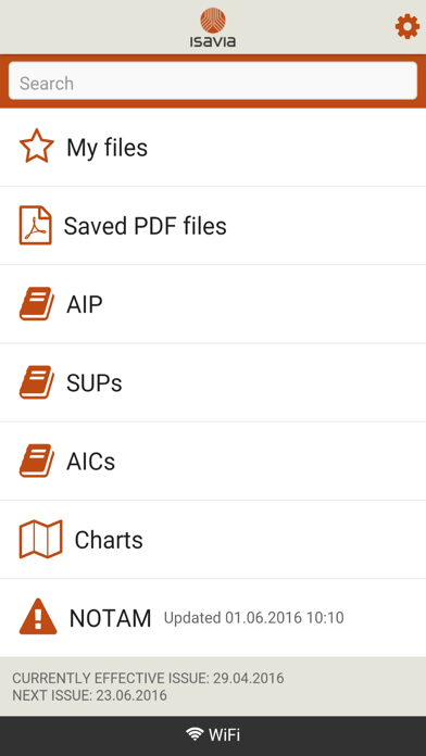 AIP Iceland screenshot one