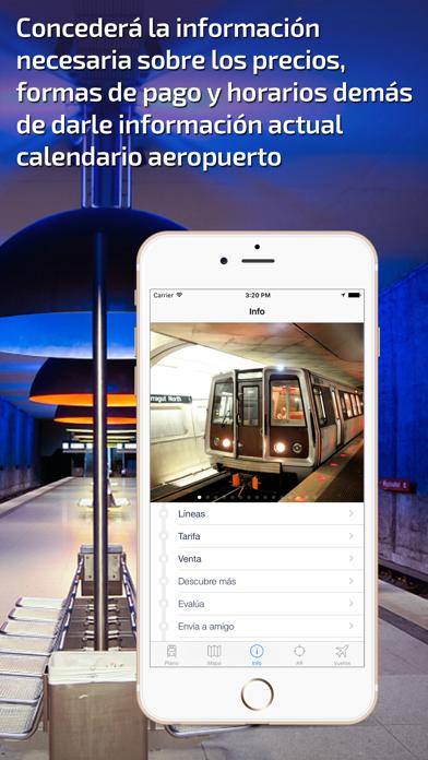 Washington DC Guía de Metro con mapa offlineCaptura de pantalla de5