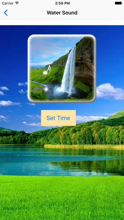 Water Sound - Sounds for sleep and relaxation screenshot-3