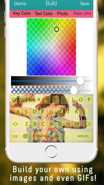 Color OkKeys - Customize your keyboard, new keyboard design & backgrounds screenshot-4