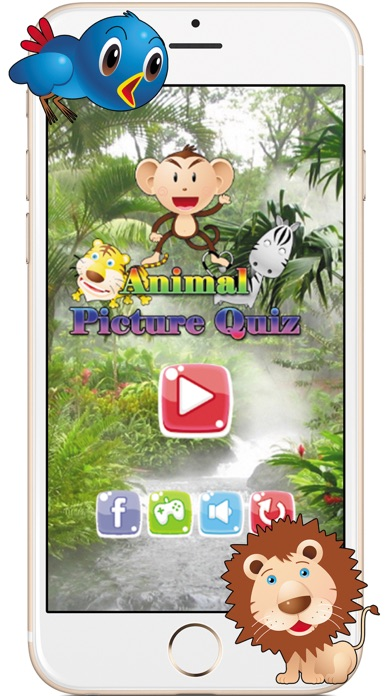 Animals Picture Quiz Word Learning Puzzles Games