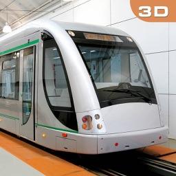 Driving In City Metro Train Sim 3D