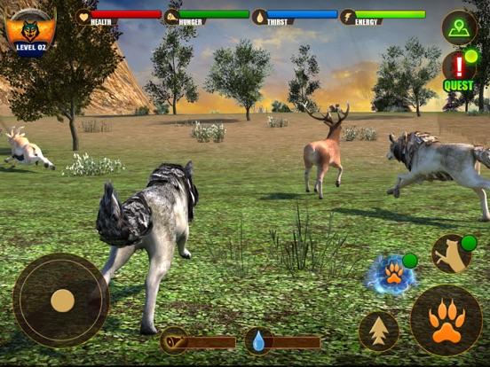 Скачать игру Wolf Life Simulation 2017