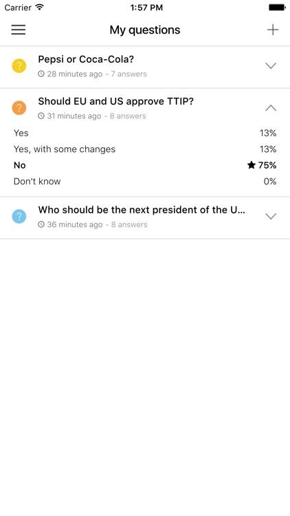 Involve - Social Polling