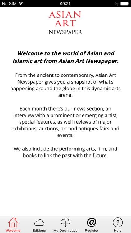 Asian Art Newspaper - Digital
