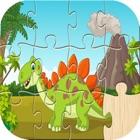 恐龙之谜:儿童恐龙拼图游戏 icon