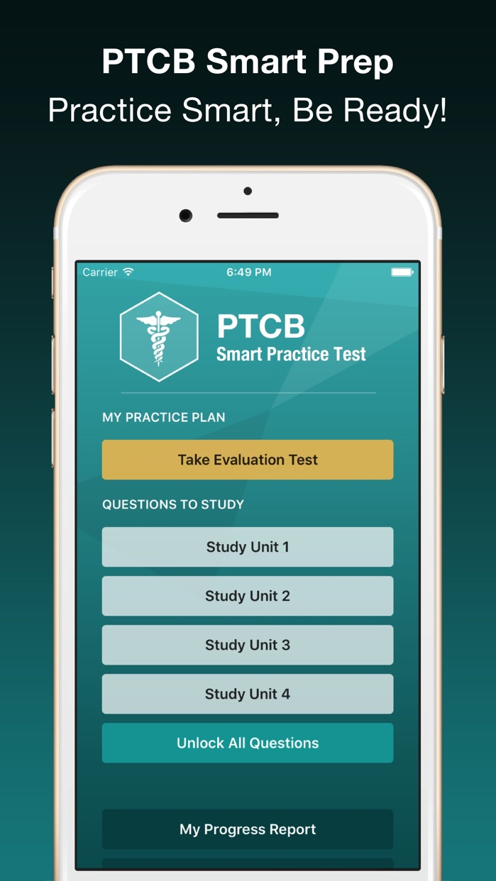 PTCB Smart Test Prep - PTCE Pharmacy Tech Exam Screenshot