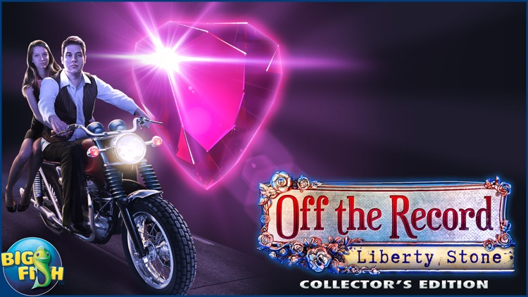 Off the Record: Liberty Stone - A Mystery Hidden Object Game (Full) screenshot-4