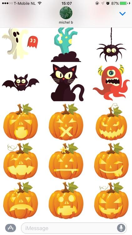 Eerie Halloween Stickers