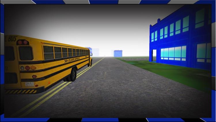 Crazy School Bus Driving Simulator game 3d