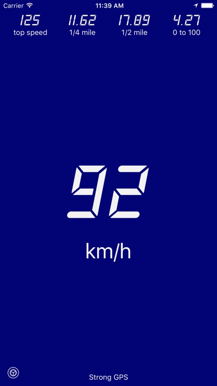 Velocimeter - Speedometer App screenshot-0