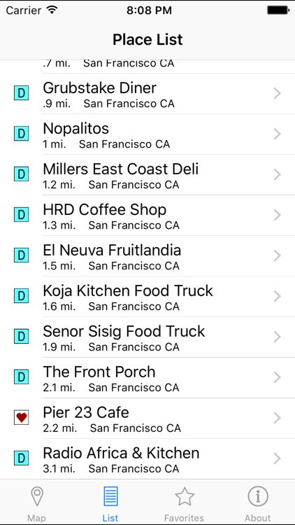 Locator for Diners, Drive-ins and Dives by MapMuse screenshot-3