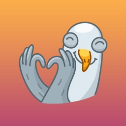 Happy Bird Emoji Stickers - for iMessage