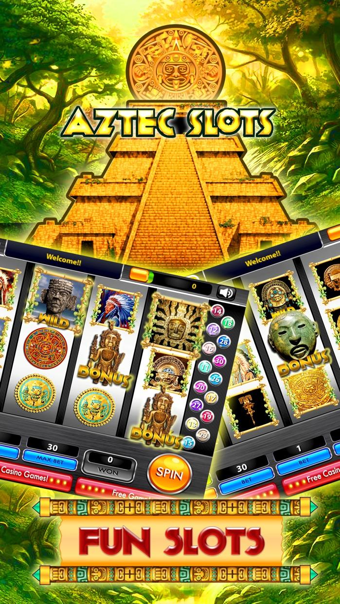 Aztec Slot Machines – Valley of Ancient King Slots Screenshot