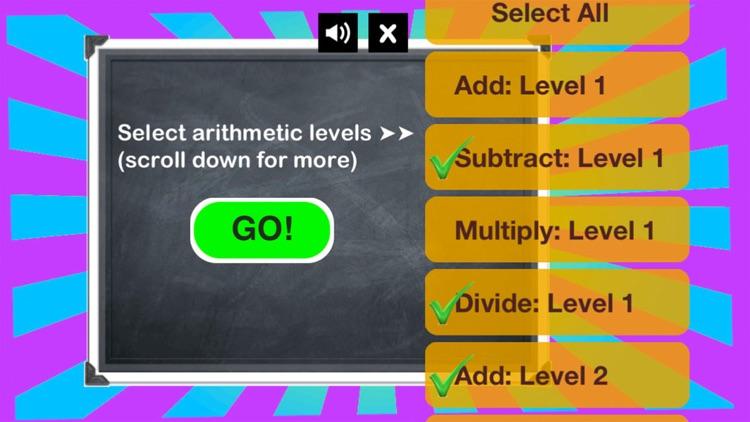 Arithmetic Wiz - Math Drills