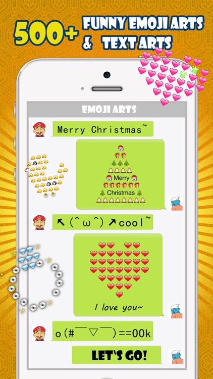 Emoji Keyboard -Gif Color Text Font for Messenger screenshot-2
