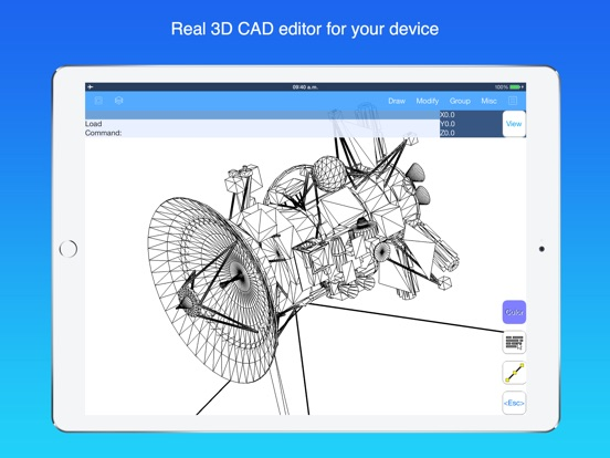 autoq3d cad app voor iphone  ipad en ipod touch appwereld iTunes 10 Icon iTunes 10 5