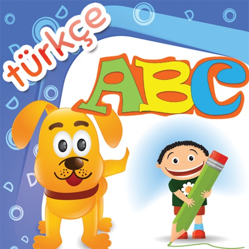 Çocuklar için öğrenme oyunu - Türkçe abc