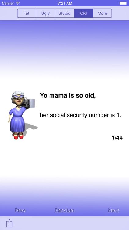 Best Yo Mama Jokes - LITE