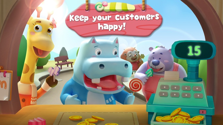 Little Panda's Candy Shop - Lollipop Factory screenshot-3