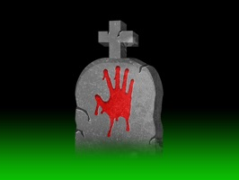 Enjoy more disturbingly witty Halloween gravestone stickers for you to use in your iMessages