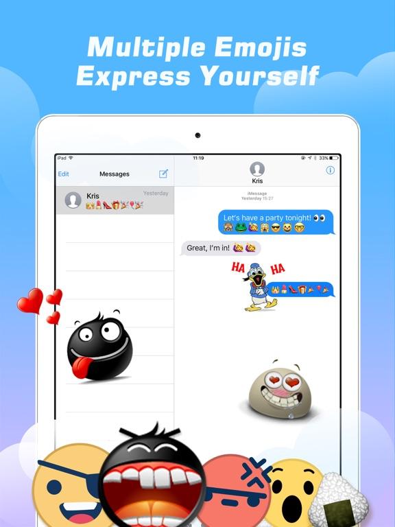 Emoji Free – Emoticons Art and Cool Fonts Keyboard-ipad-1