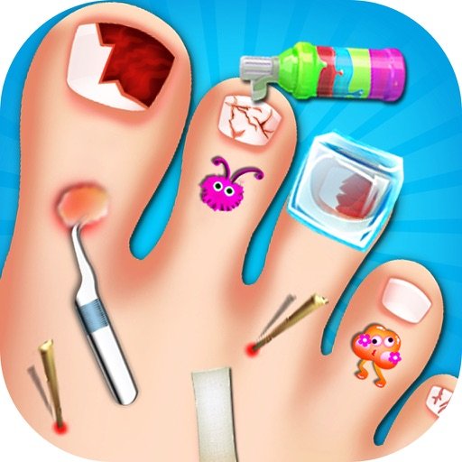 Toe Nail Doctor - Little Nail Surgery kids games
