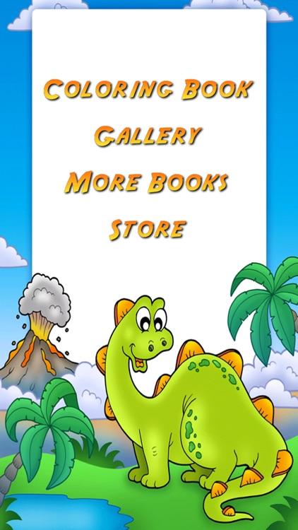 Dinosaur Coloring Book! screenshot-3