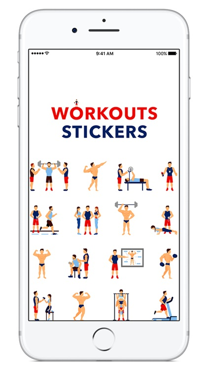 Workouts Stickers