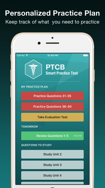 PTCB Smart Test Prep PLUS - PTCE Pharmacy Exam screenshot-3