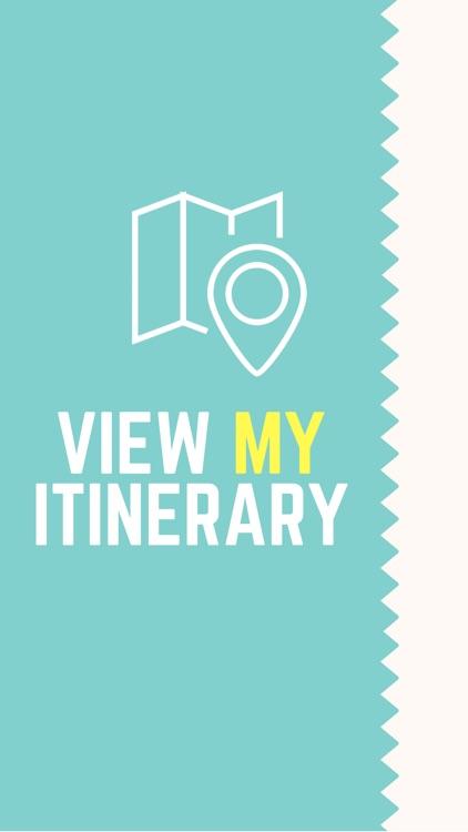 View my Itinerary