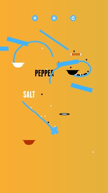 Salt & Pepper: A Physics Game