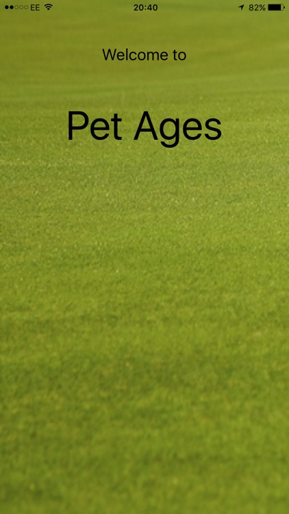 Pet Age - How Old Is My Pet