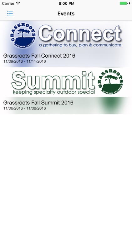 Grassroots Summit & CONNECT app image