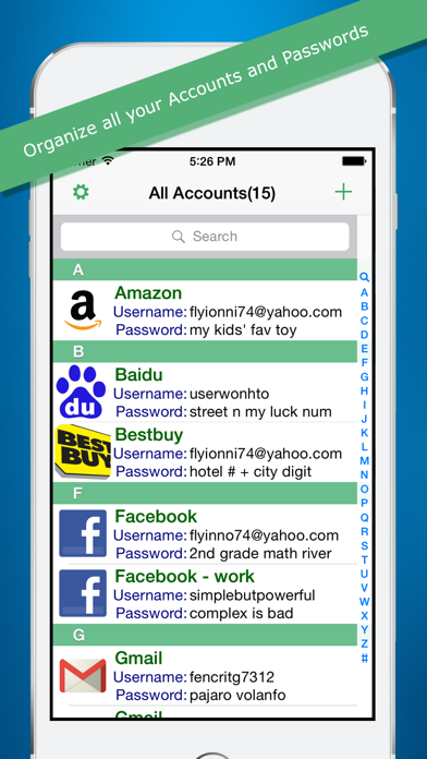 Pass2word Screenshot