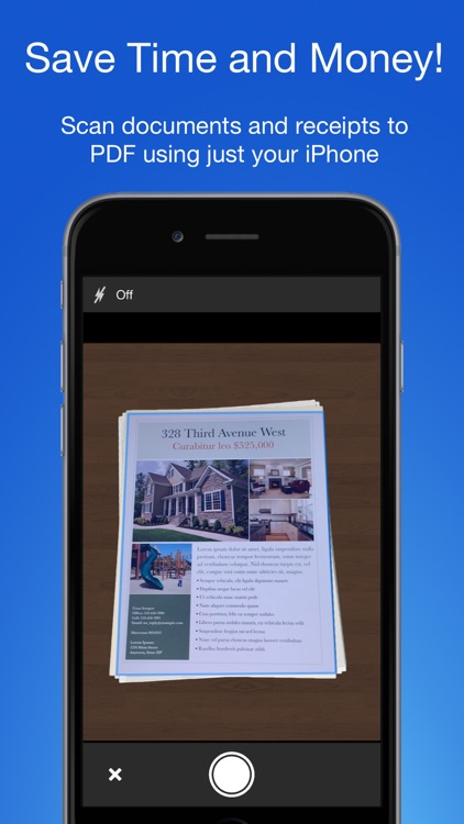 Smart PDF Scanner: Scan Documents and Receipts screenshot-0