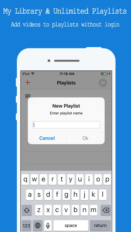 Free Music Player - for YouTube Music Videos & Playlist Manager screenshot-4