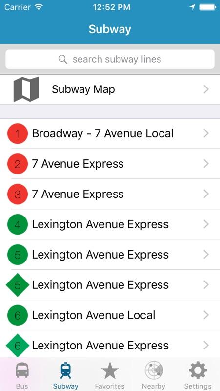 Nyc Subway Map Gamw.Ny Subway Bus New York City Nyc Mta Realtime Transit Tracker