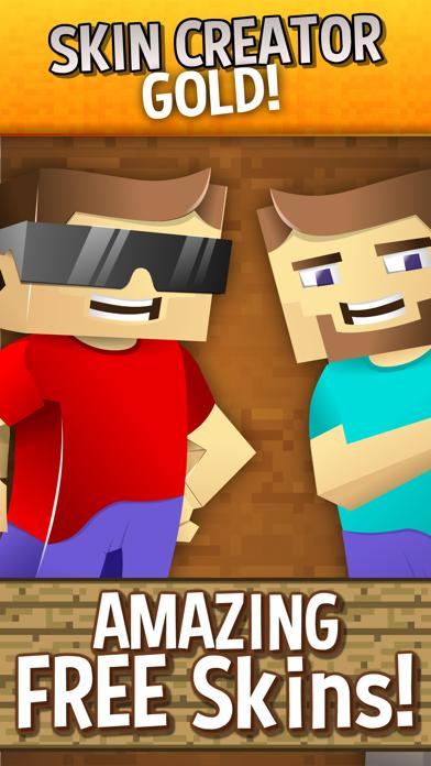 点击获取Skin Creator Gold For Minecraft Skins