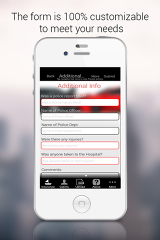 Insurance Claim Manager App - náhled