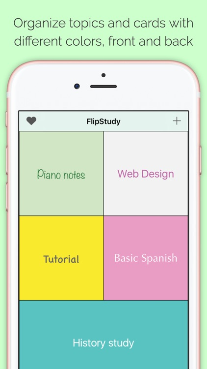 FlipStudy Index Cards