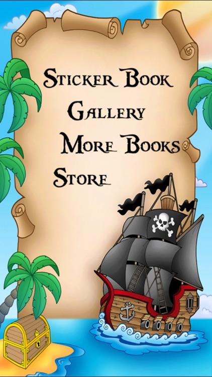 Pirate Sticker Book! screenshot-3