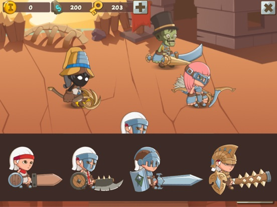 My Tiny Heroes screenshot