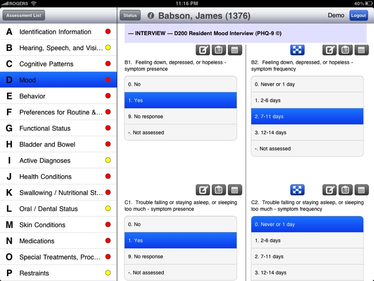 PointClickCare Mobile MDS screenshot-3