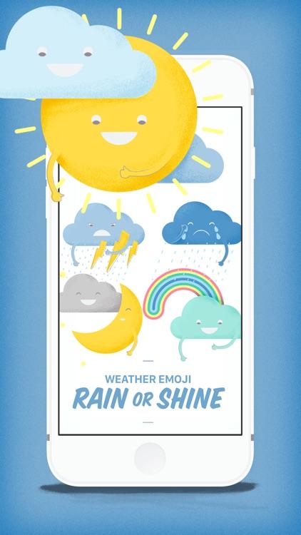 Weather Emoji Rain or Shine