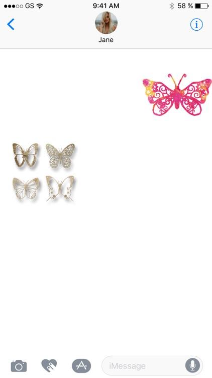 Butterflies Two Sticker Pack!