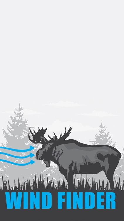 Wind Direction for Moose Hunting - Wind Finder screenshot-0