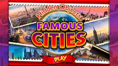 Hidden Objects World Famous Cities Object Spy Time